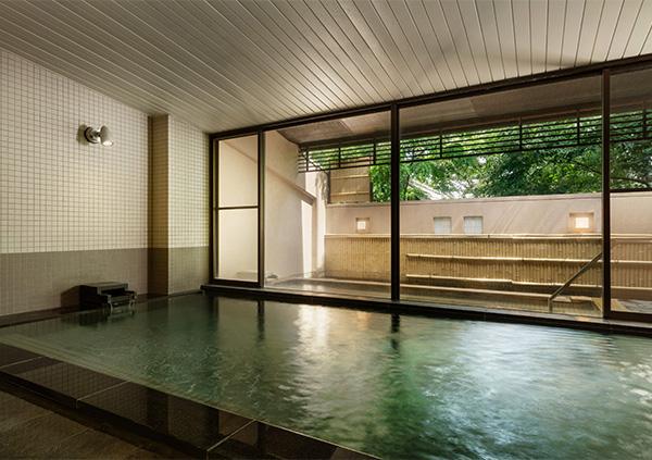 「コートヤードbyマリオット白馬」大浴場の写真